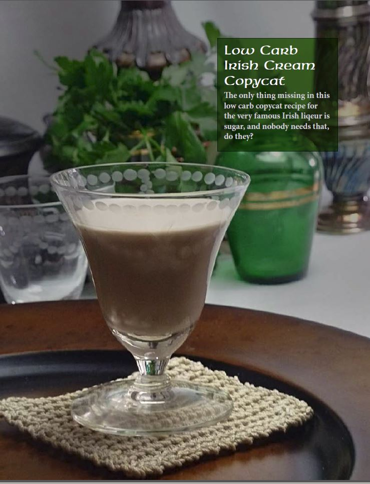 Low Carb Irish Cream from Feast St. Patrick's Day