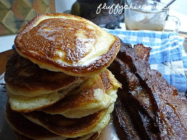 Low Carb Induction Hoecakes Close Up