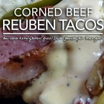 Low Carb Reuben Tacos – Take a Bite Out of Leftover Corned Beef