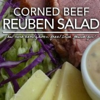 Low Carb Reuben Salad – A Salute to the Old Alfred's Deli in Houston