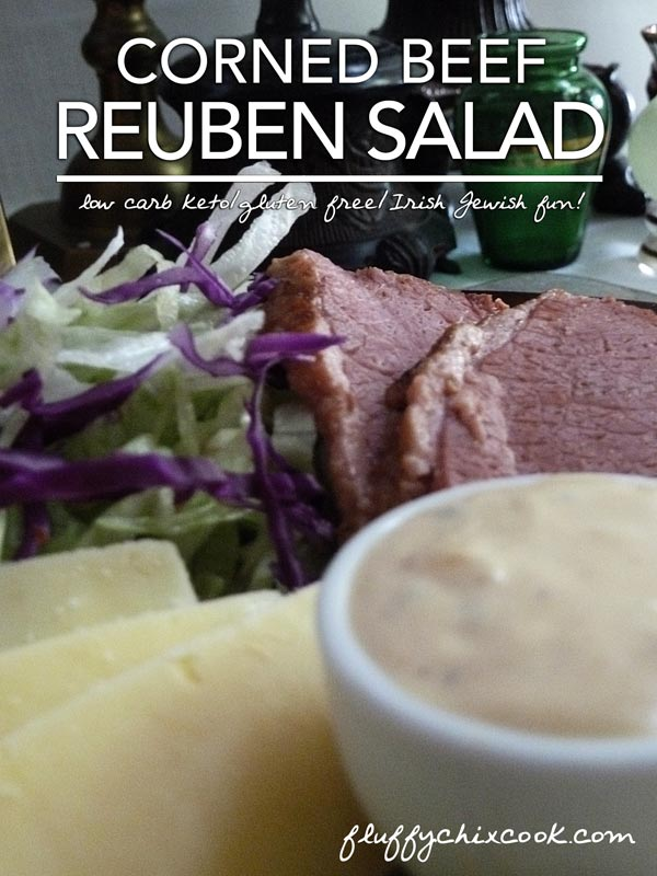 Low Carb Keto Reuben Salad