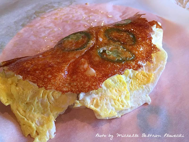 Michelle's Fried Egg Fundido