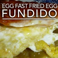 Egg Fast Fried Egg Fundido – Low Carb Keto Fandango!