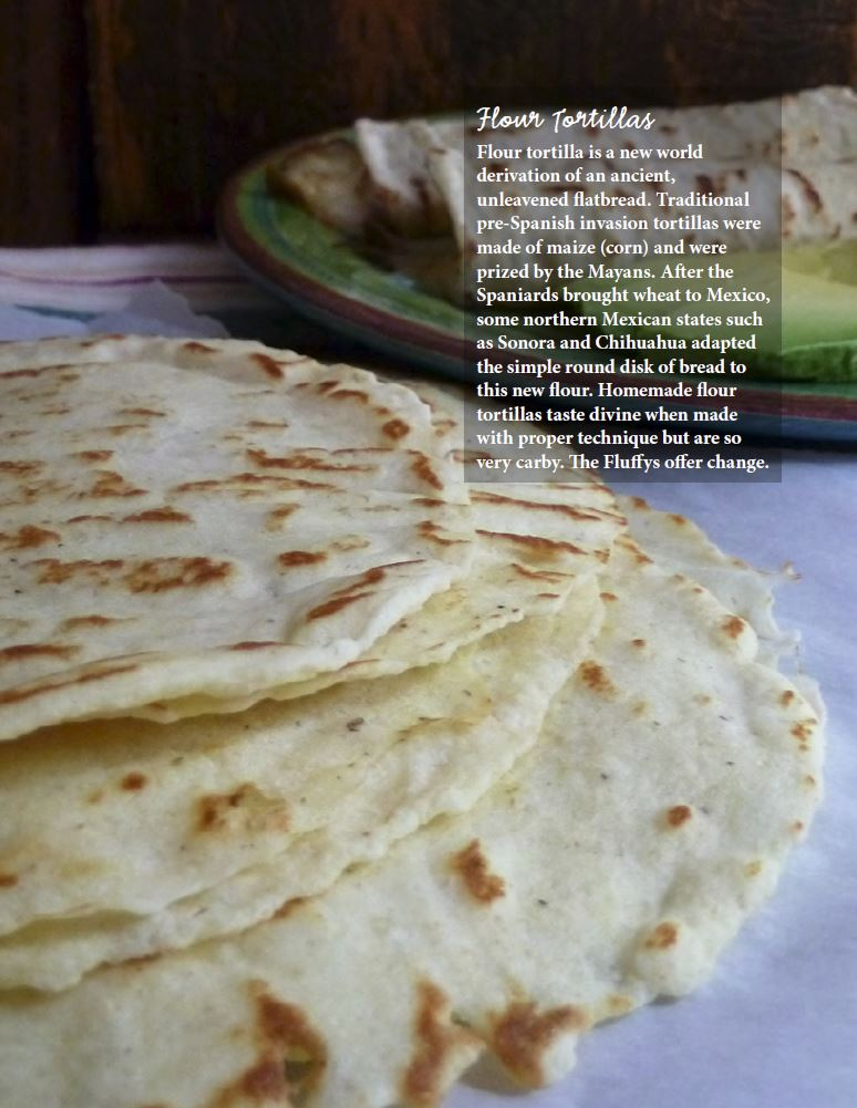 Feast May - Low Carb Flour Tortillas