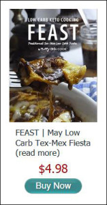 May Feast Low Carb Tex Mex Fiesta e-book Buy Now Button