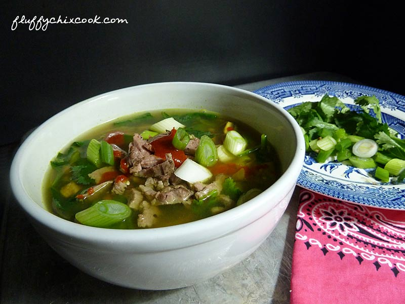 Beefy Zoodle Soup 2 Ways - Asian Pho