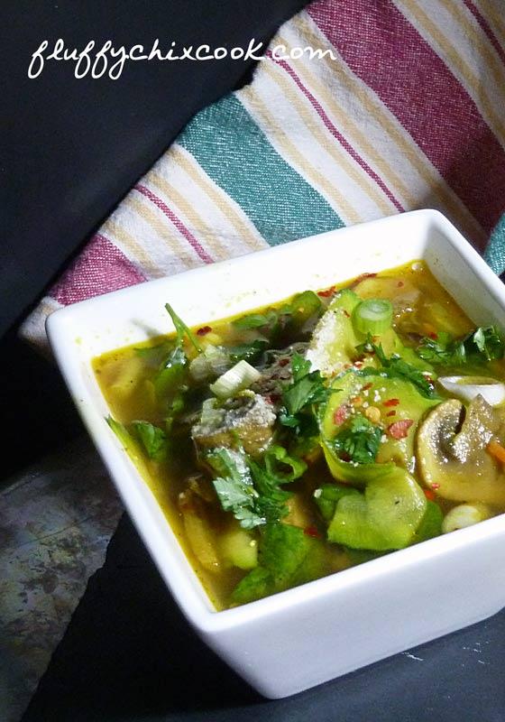 Italian Style Beef Zoodle Soup 2 Ways