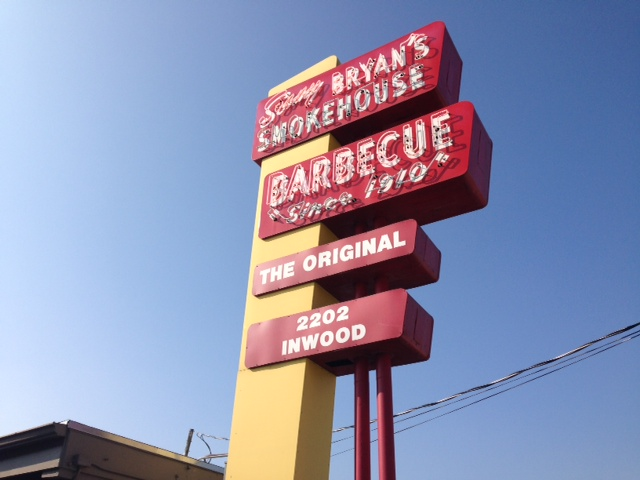 Sonny Bryan's Barbecue a Dallas Tradition