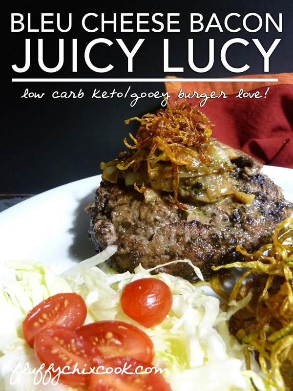 Bleu Cheese Bacon Juicy Lucy Recipe