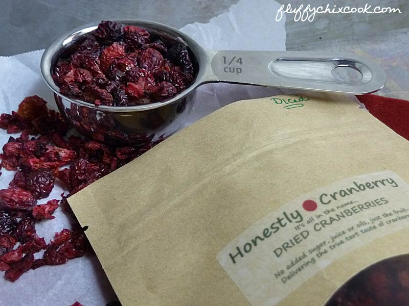 Low Carb Dried Cranberries from Honestly Cranberry