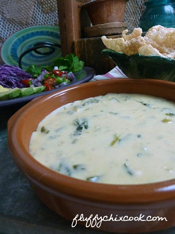 Low Carb Queso Blanco Cheese Dip