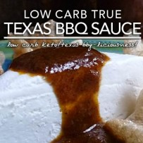 Low Carb Texas Barbecue Sauce