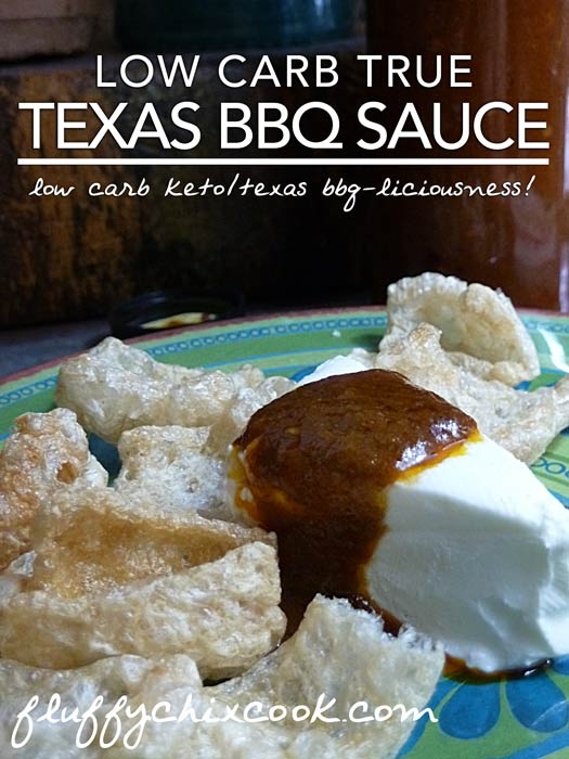 Low Carb Texas BBQ Sauce Recipe