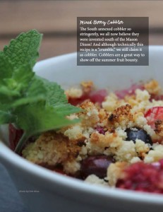 Mixed Berry Cobbler Low Carb and Gluten Free