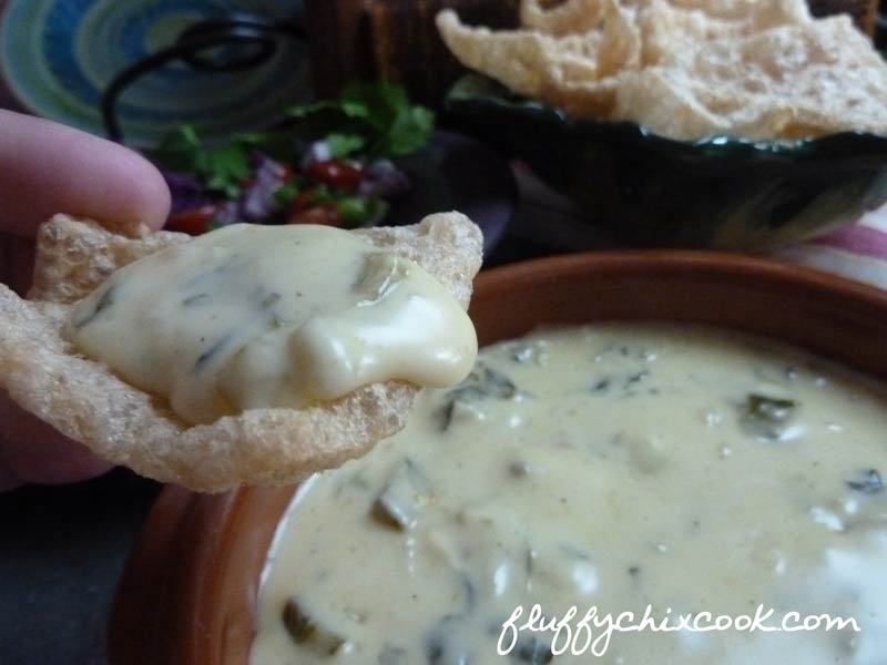 Bite of Low Carb Queso Blanco