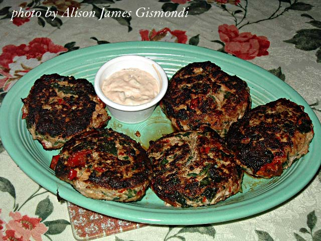 Low Carb Amazing Chicken Burgers by Allison Gismondi
