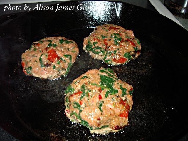 Cooking Low Carb Chicken Burgers by Allison Gismondi