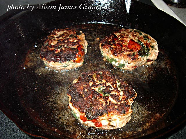 Cooking Low Carb Amazing Chicken Burgers by Allison Gismondi