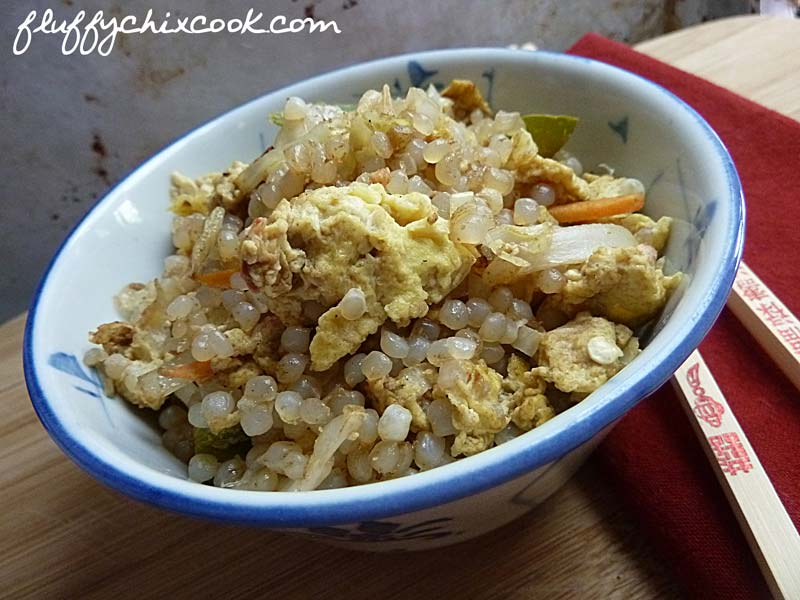 Low Carb Miracle Vegetarian Fried Rice