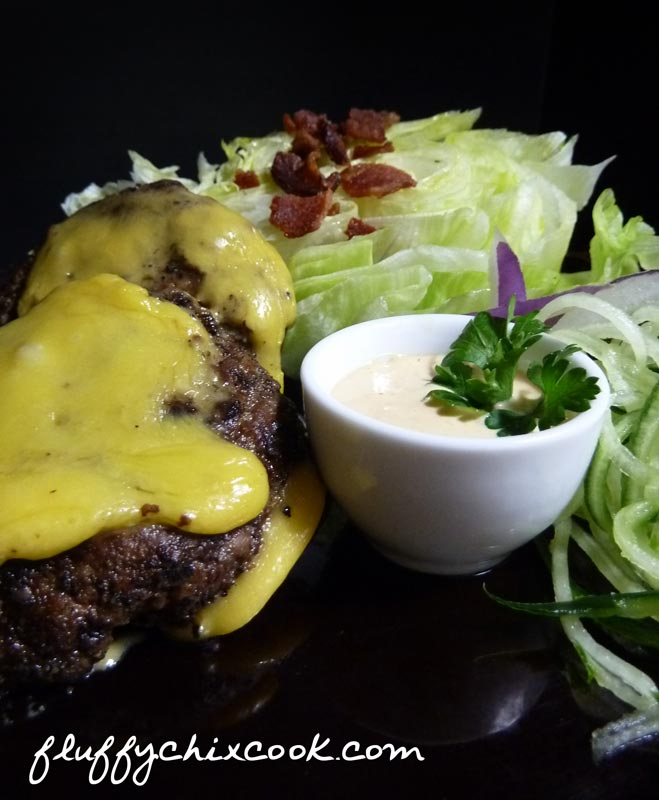 Low Carb Big Mack Attack Salad