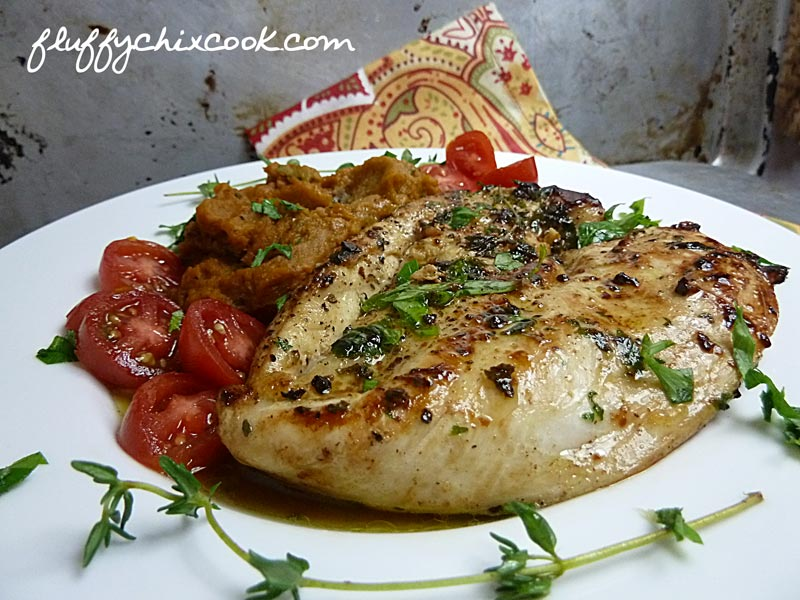 Pan Seared Chicken with Parsley and Thyme 3