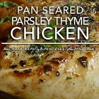 Pan Seared Chicken with Parsley and Thyme | Keto Allergy KISS Day 2